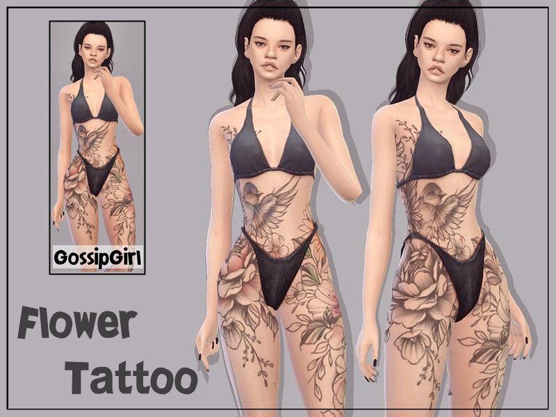 GossipGirl-S4's FlowerTattoo - GossipGirl