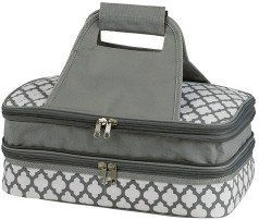7e475e613aa525 Insulated Double Pyrex Casserole Carrier Thermal Keeper - Fits 9x13  Casserole Dish