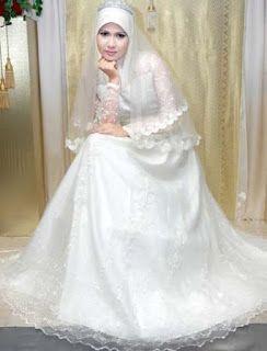 Baju Pengantin Muslim Baju Pengantin Muslim Model Baju Kebaya