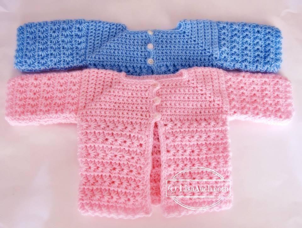 A Star is Born (Newborn Baby Cardigan) | Pinterest
