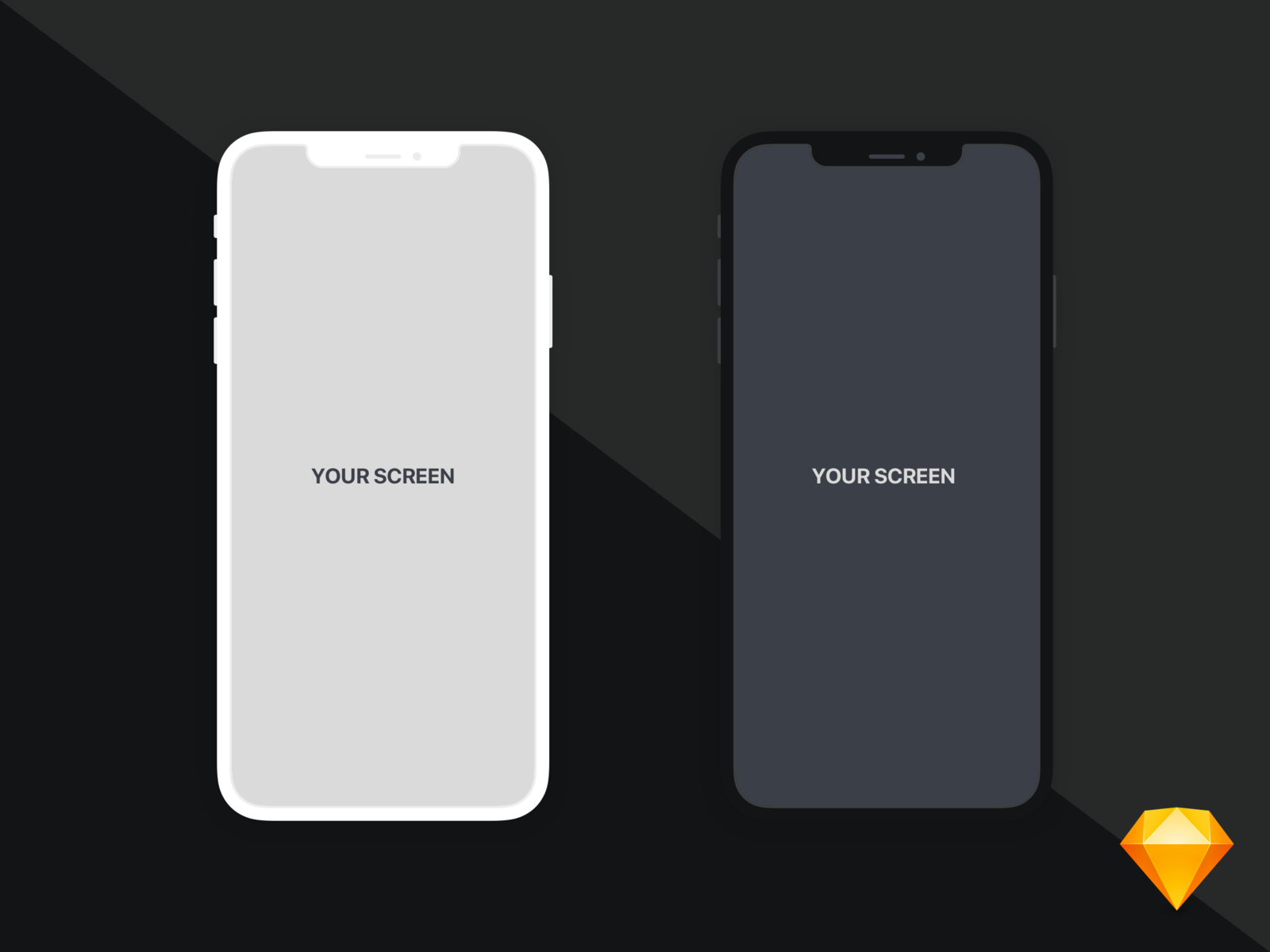 Iphone Xs Max Flat Mockup Iphone Free Mockup Mockup Free Download