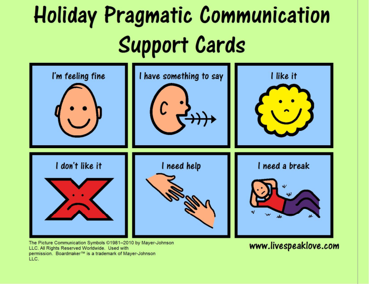 Free Download Visual Support For Communication Useful During