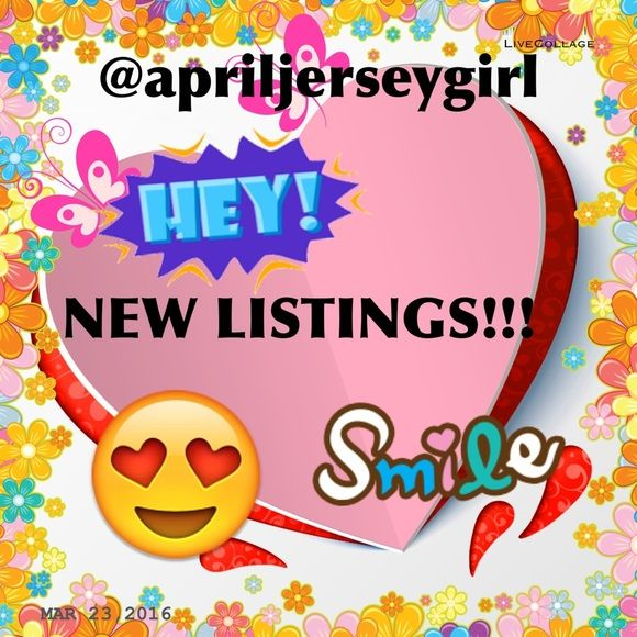 WAIT!! -CHECK OUT MY NEW LISTINGS!!! After this post will be my new listings for the day. Please check them out, you may just see a beautiful piece, just for YOU! I will be posting new listings MON, TUES, & WED---- THANK YOU FOR STOPPING BY .....BUNDLES 3+ are 20% OFF......SEE SOMETHING BUT DONT LIKE THE PRICE--- PLZ MAKE A REASONABLE OFFER!!! Free gift with each order---- and I SHIP SAME DAY!! T H A N K -Y O U  Other