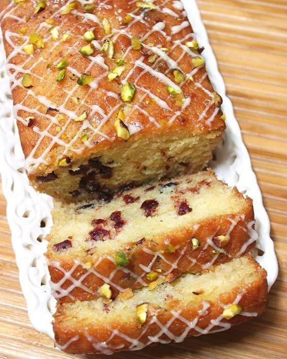 Orange Cranberry Cake Recipe Cranberry Cake Eggless Desserts Cranberry Orange Cake