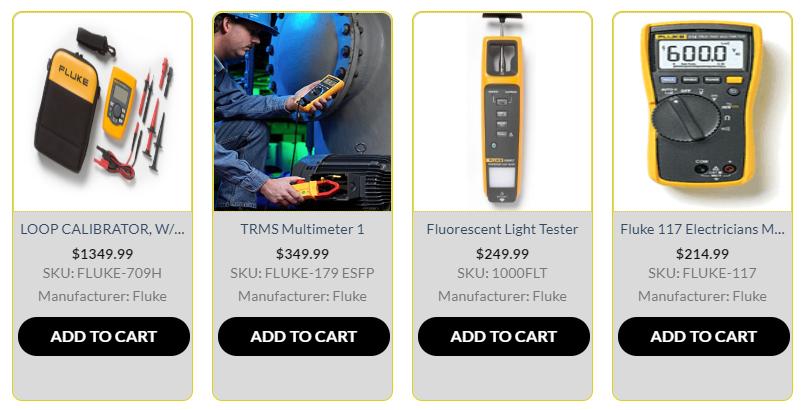 Fluke Test Equipment | Fluke Quality Measurement