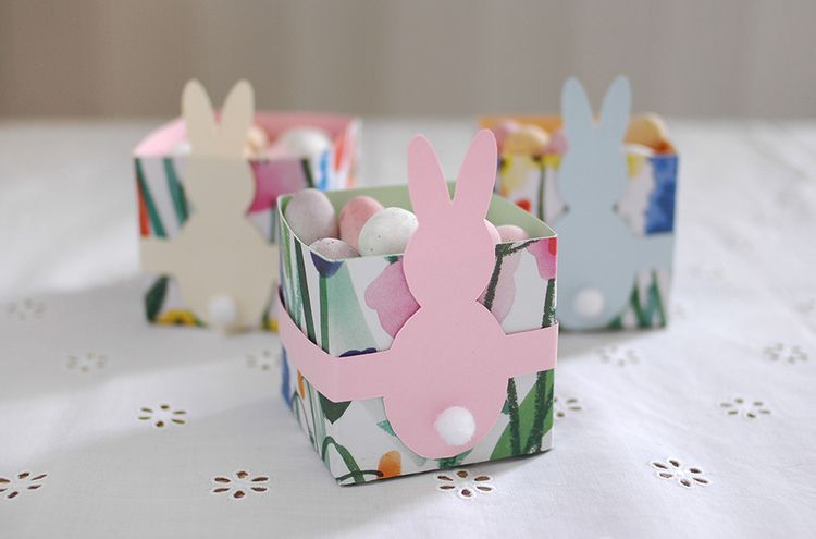 Diy mini easter gift boxes easter patchwork and minis diy mini easter gift boxes patchwork harmony negle Gallery