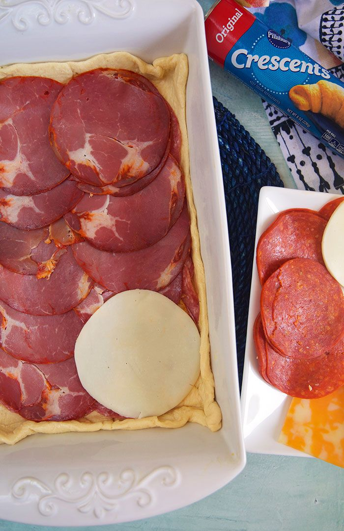 Easy Antipasto Squares - The Suburban Soapbox