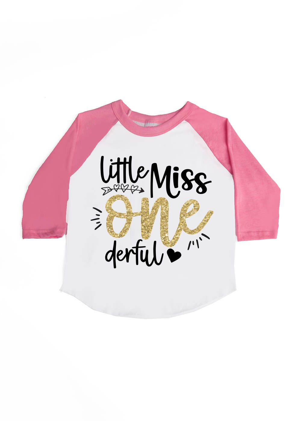 Little Miss ONE derful Shirt Girls' Birthday Shirts