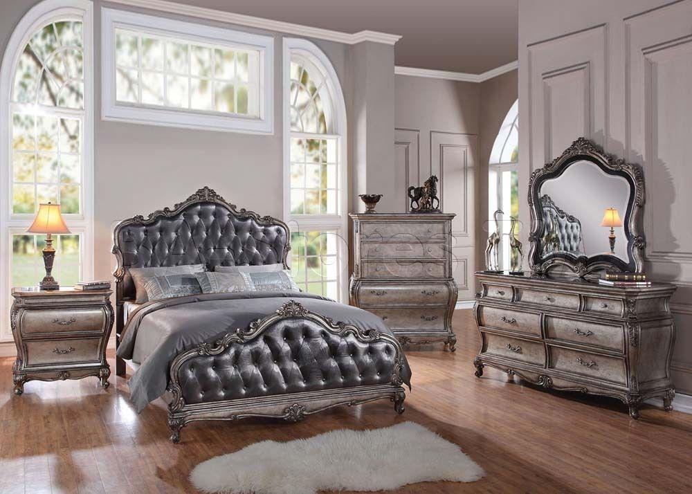 Silver Bedroom Furniture Sets Photo 1
