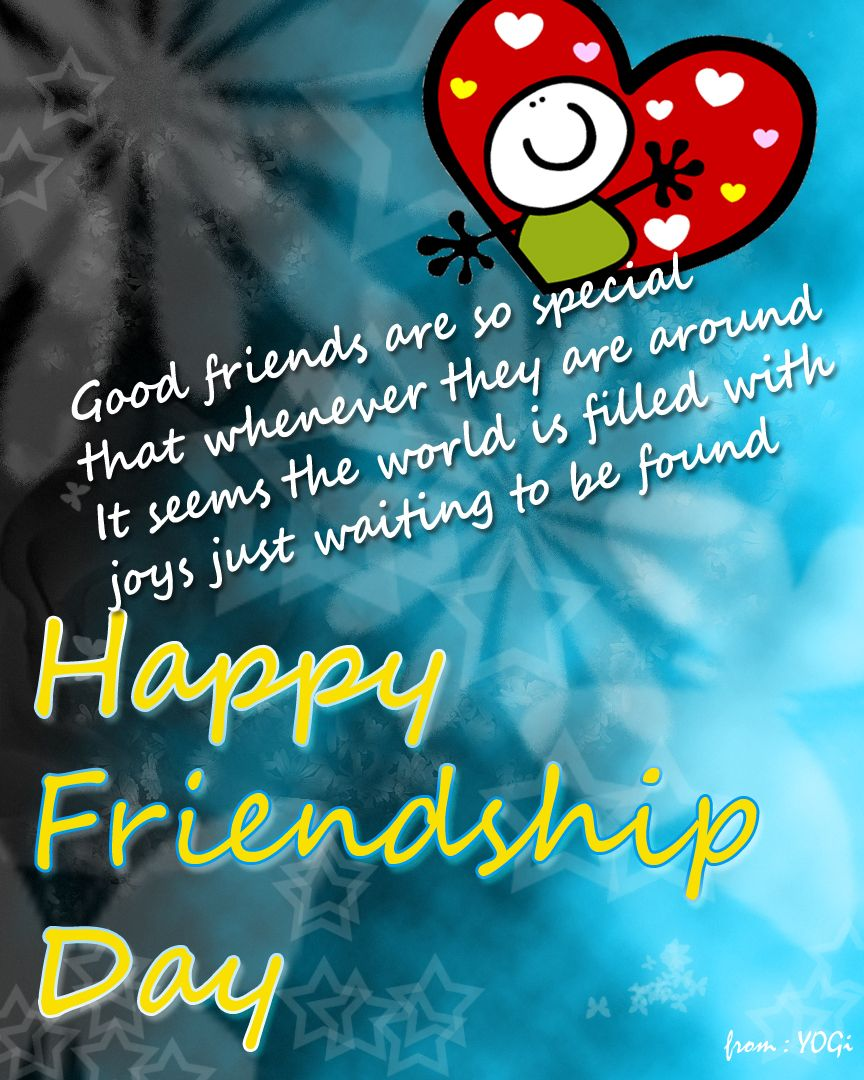 Friendship Day Pics With Quotes: Friendship Day Wallpaper …
