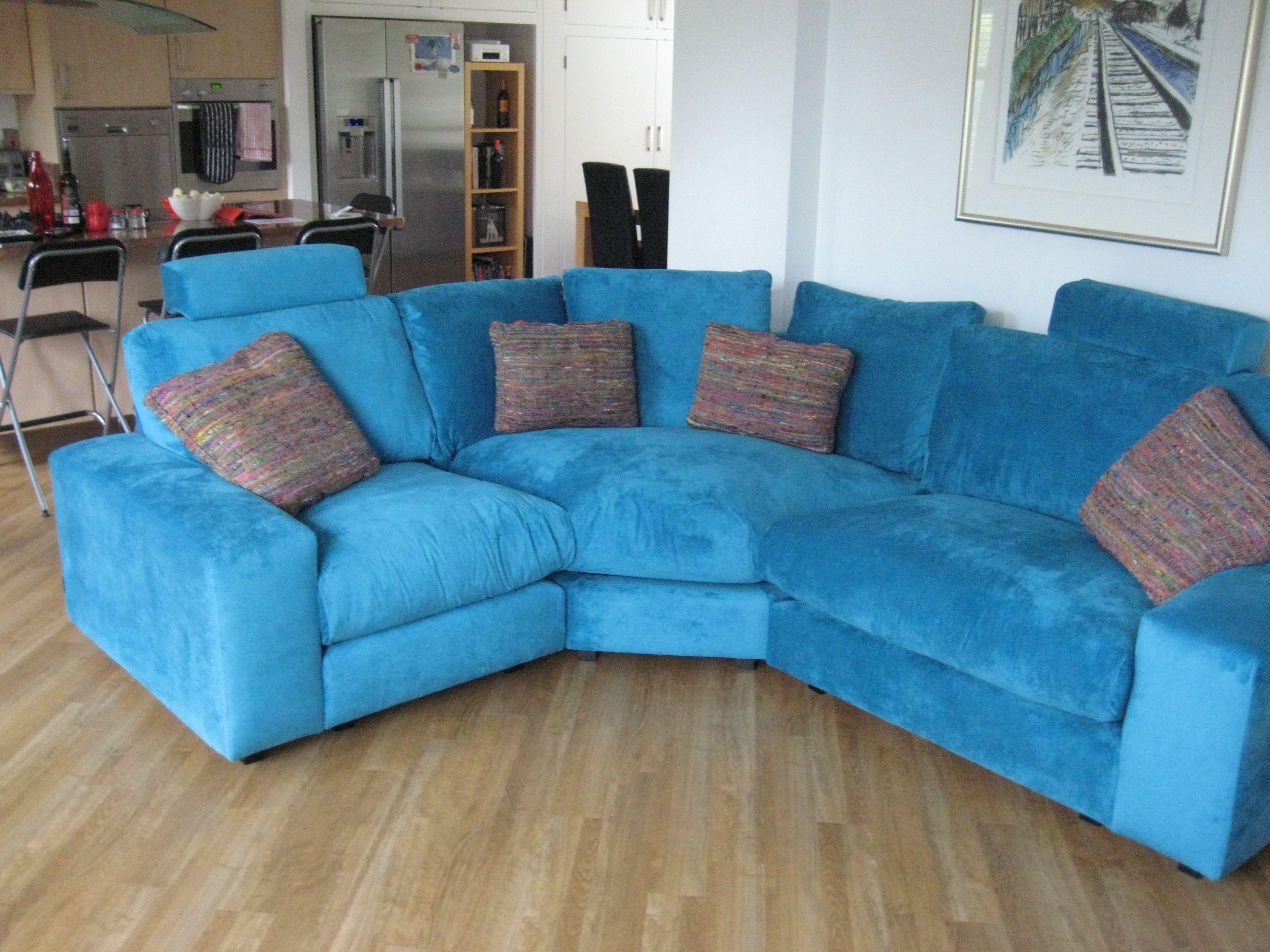 Best Brilliant Blues These Segura Sofa Modules Are In J Brown 640 x 480