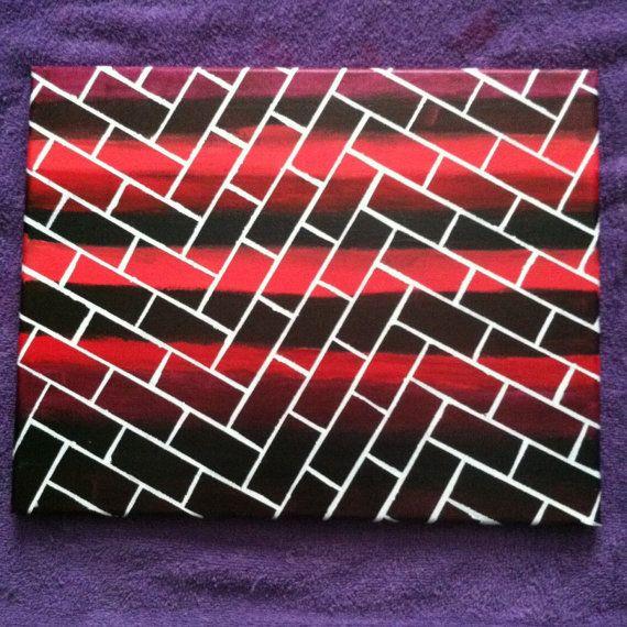 Bricks By ADivineCraft On Etsy Acrylic Paint Painting