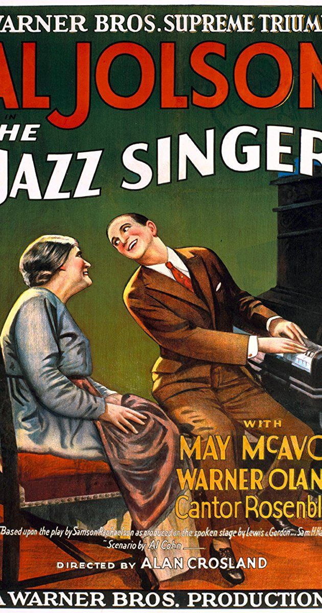 The Jazz Singer The jazz singer, The jazz singer 1927