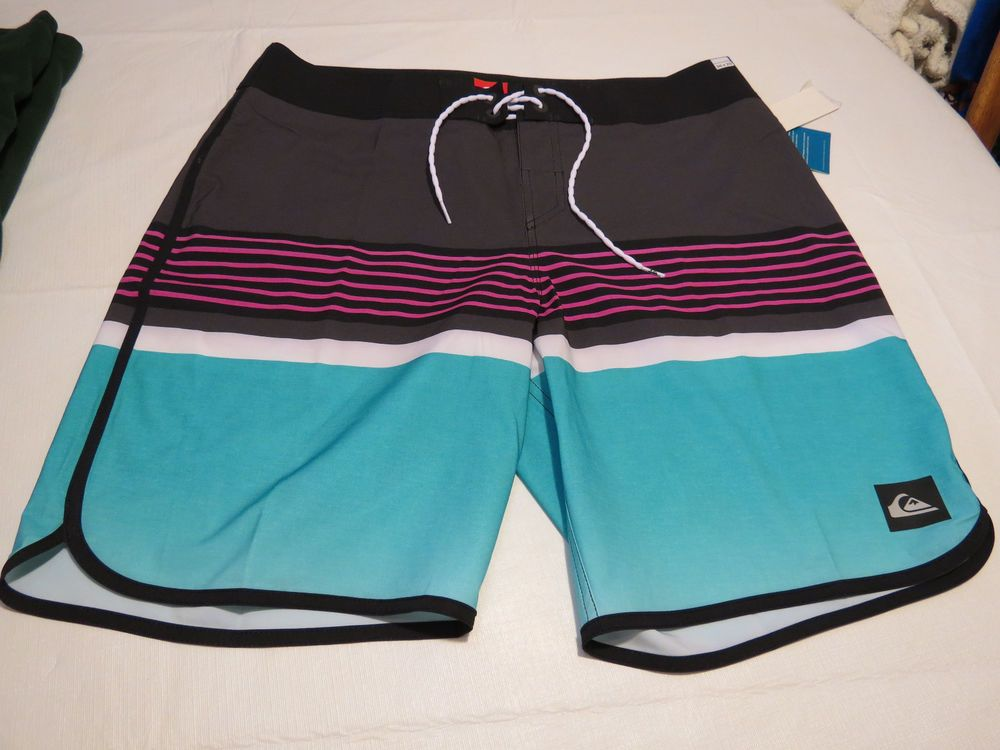 Quiksilver Ag47 Line Up U20 Bhq6 36 Board Shorts Swimming Trunks