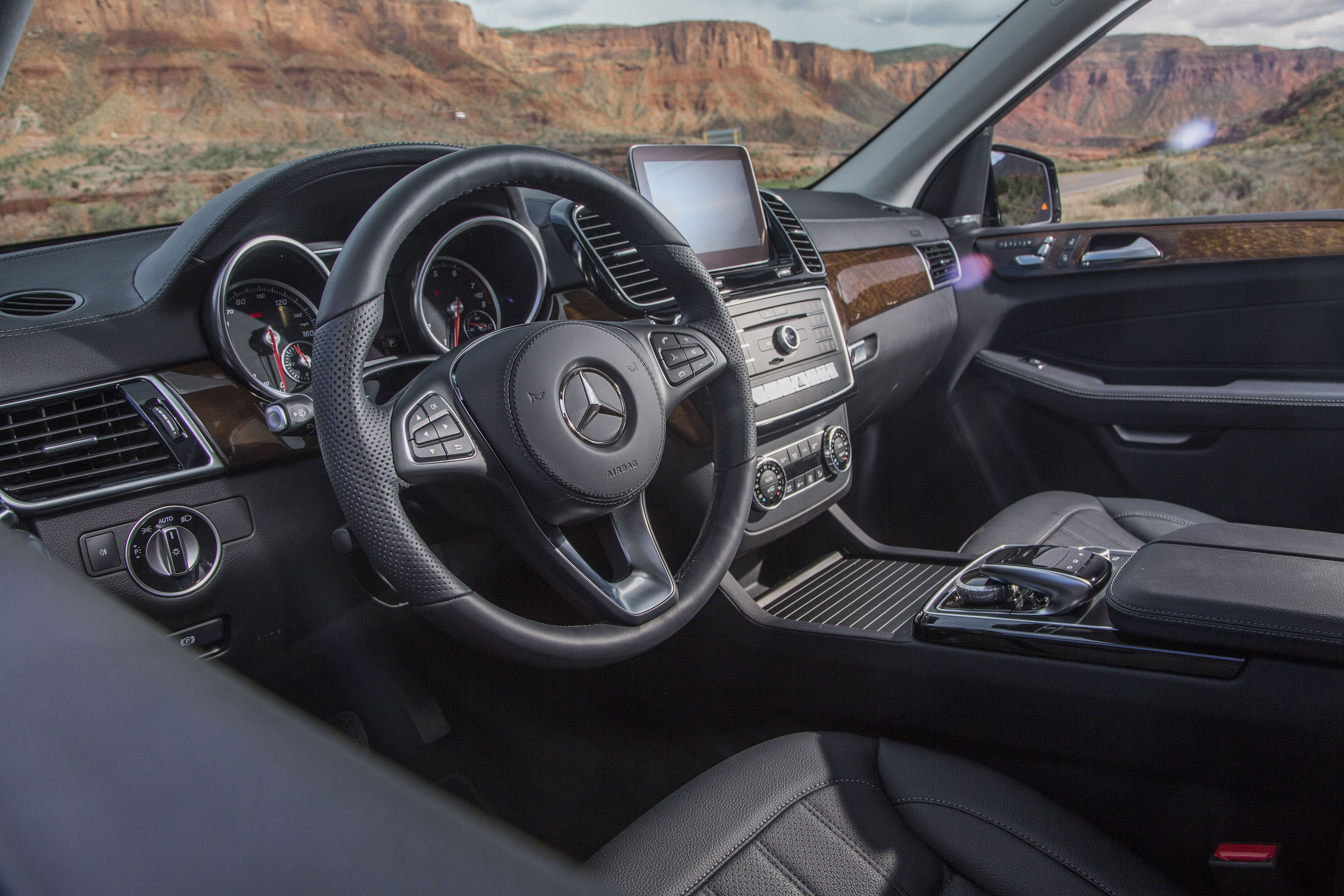 Interior 2017 Mercedes Benz Gls 450 4matic North America X166 2016
