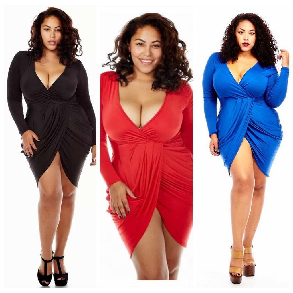 New Plus Size Bodycon Long Tank Dress In In Gather And Drop Effect