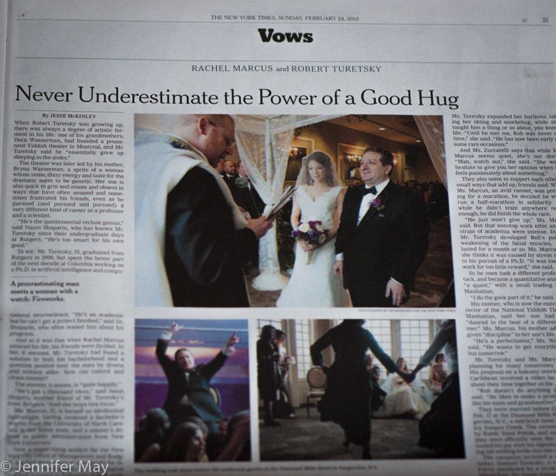 Getting Into The Vows Section Of The New York Times Vows Wedding Photography New York Times