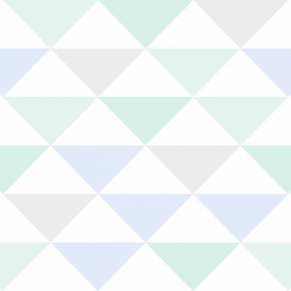 Papel De Parede Cole O Geometria Branco Cinza Azul E Verde  ~ Quarto De Bebe E Casal Juntos E Quarto Casal Parede Cinza