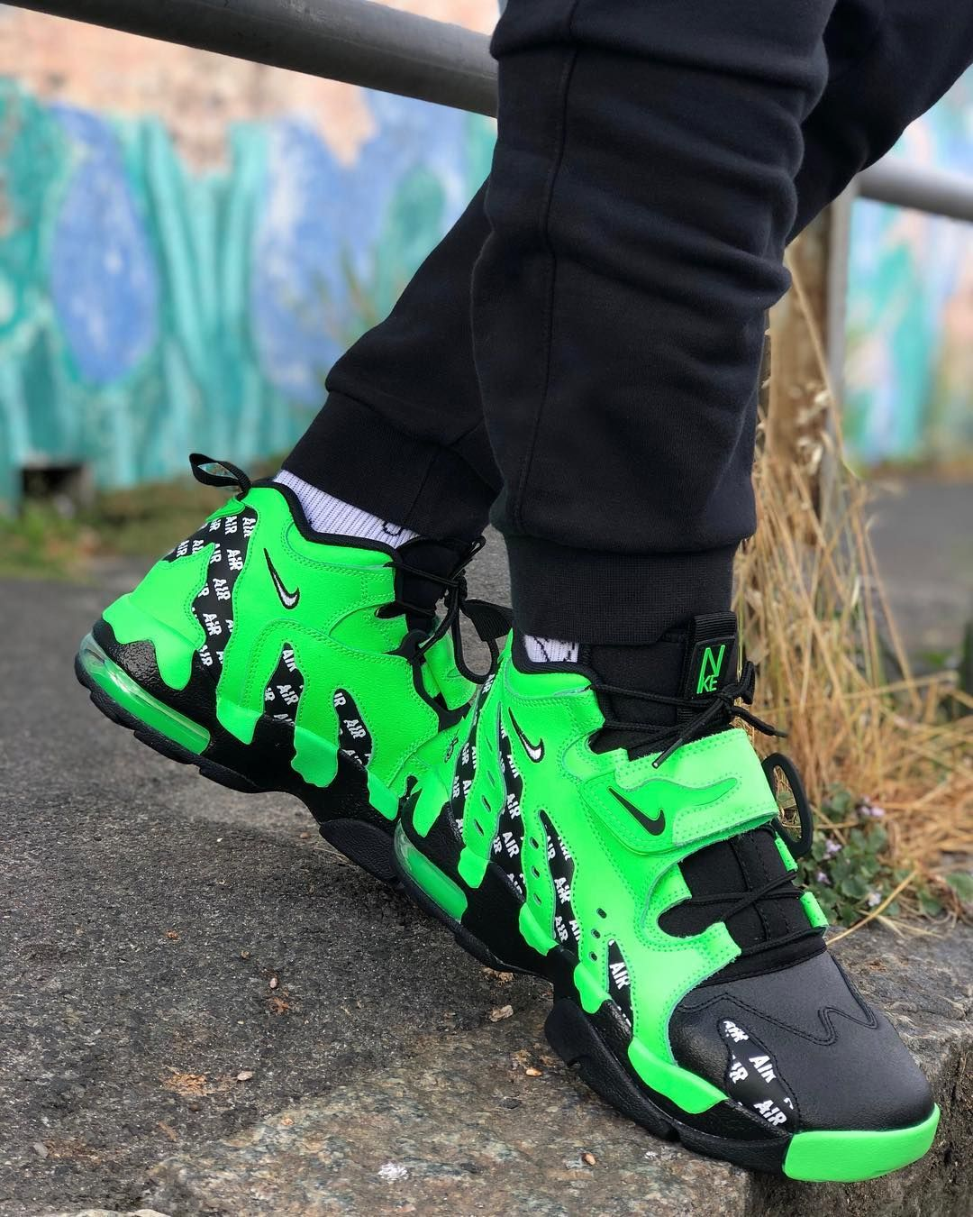 wearing rage green nike Air DT Max 96 Google Search | Nike
