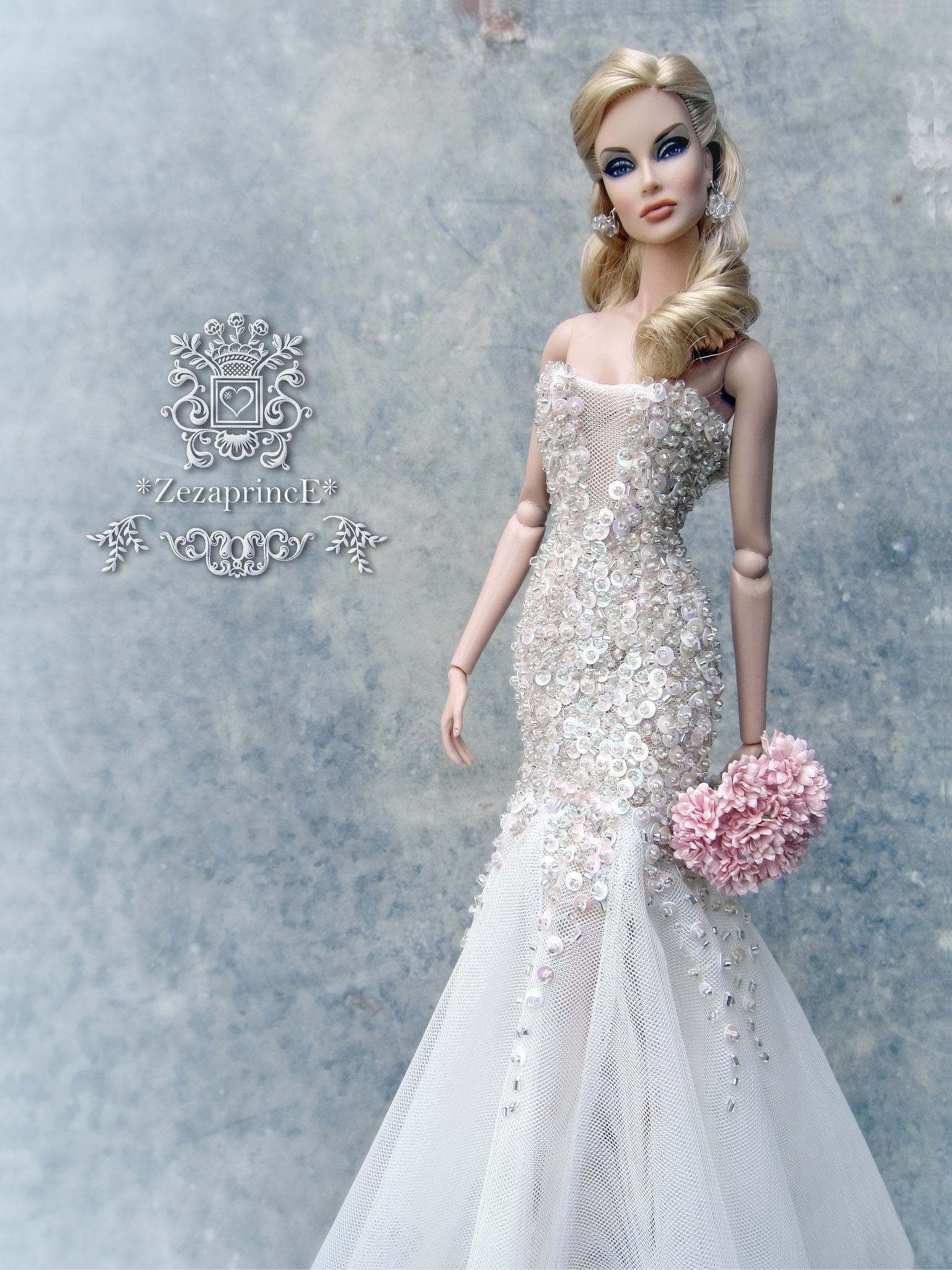 Pin de Ethel Sem en Wedding dresses for dolls. | Pinterest | Barbie ...