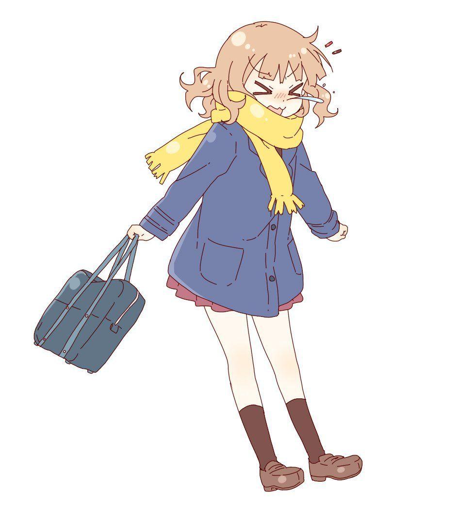Yuru Yuri Christmas Sketch 2   Anime Girls   Pinterest   Yuri and Anime