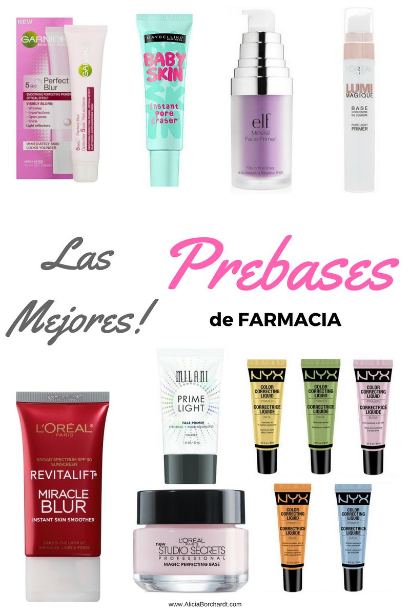 Las Mejores Prebases De Farmacia Para Pieles Secas Y Maduras Alicia Borchardt Base De Maquillaje Para Piel Seca Mejor Maquillaje De Farmacia Maquillaje Para Piel Grasa