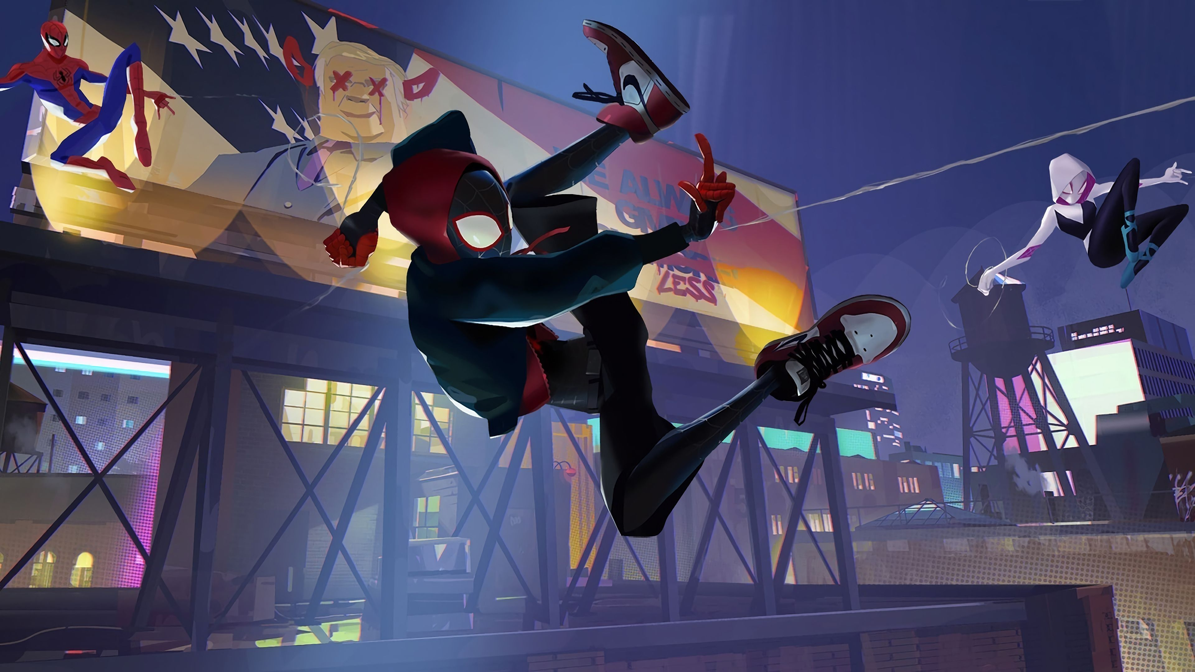 Peter Parker Spiderman Into The Spider Verse 4k Spiderman Wallpapers Spiderman Into The Spider Verse Wallpapers Movies W Marvel Images Spider Verse Spiderman