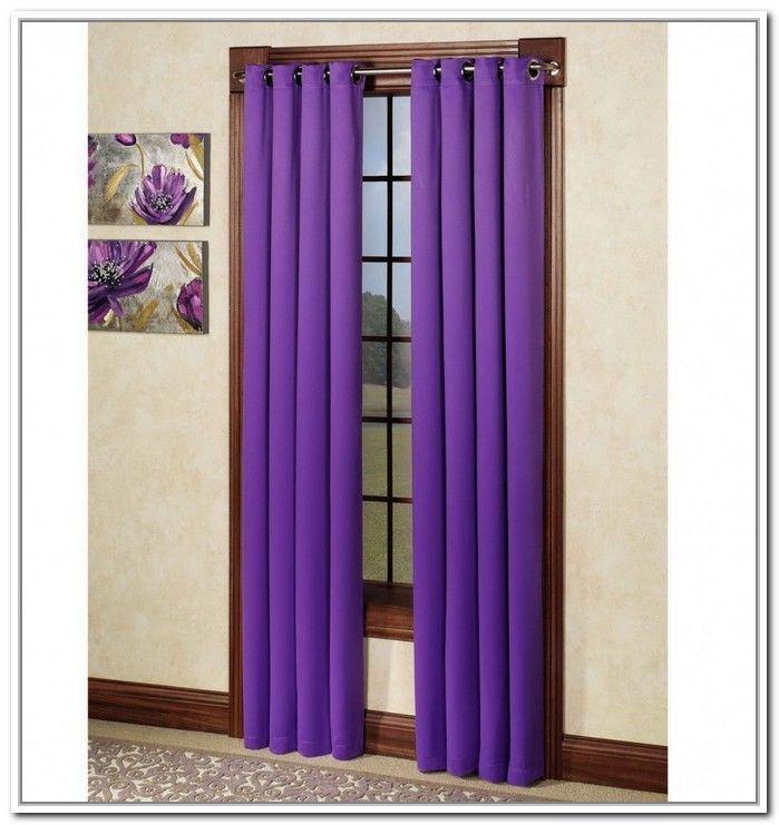 12 Wonderful Dark Purple Blackout Curtains Snapshot Ideas
