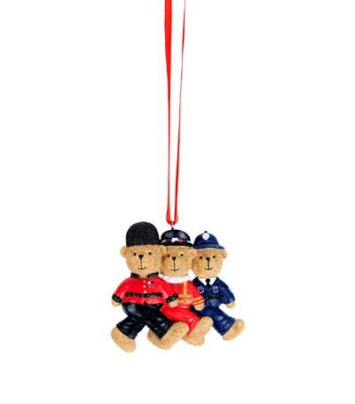 harrods marching london bears tree decoration available to buy at harrods shop luxury christmas decorations online earn reward points