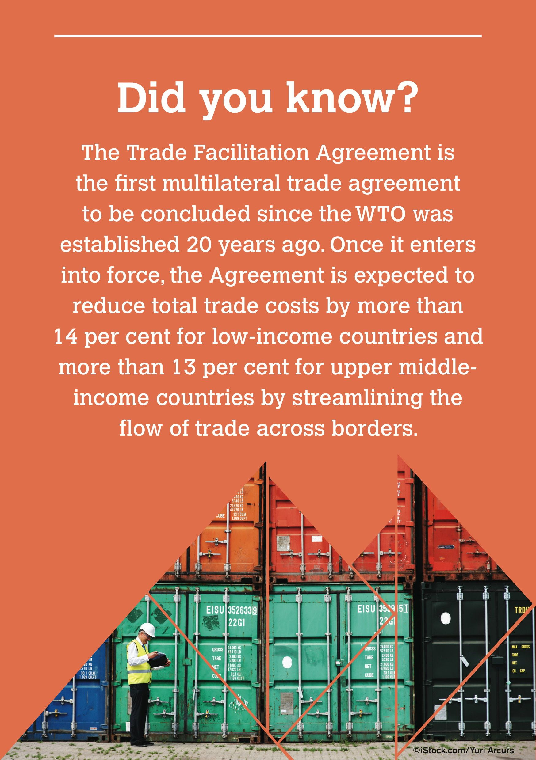 Wto Trade Facilitation Agreement Easing The Flow Of Goods Across
