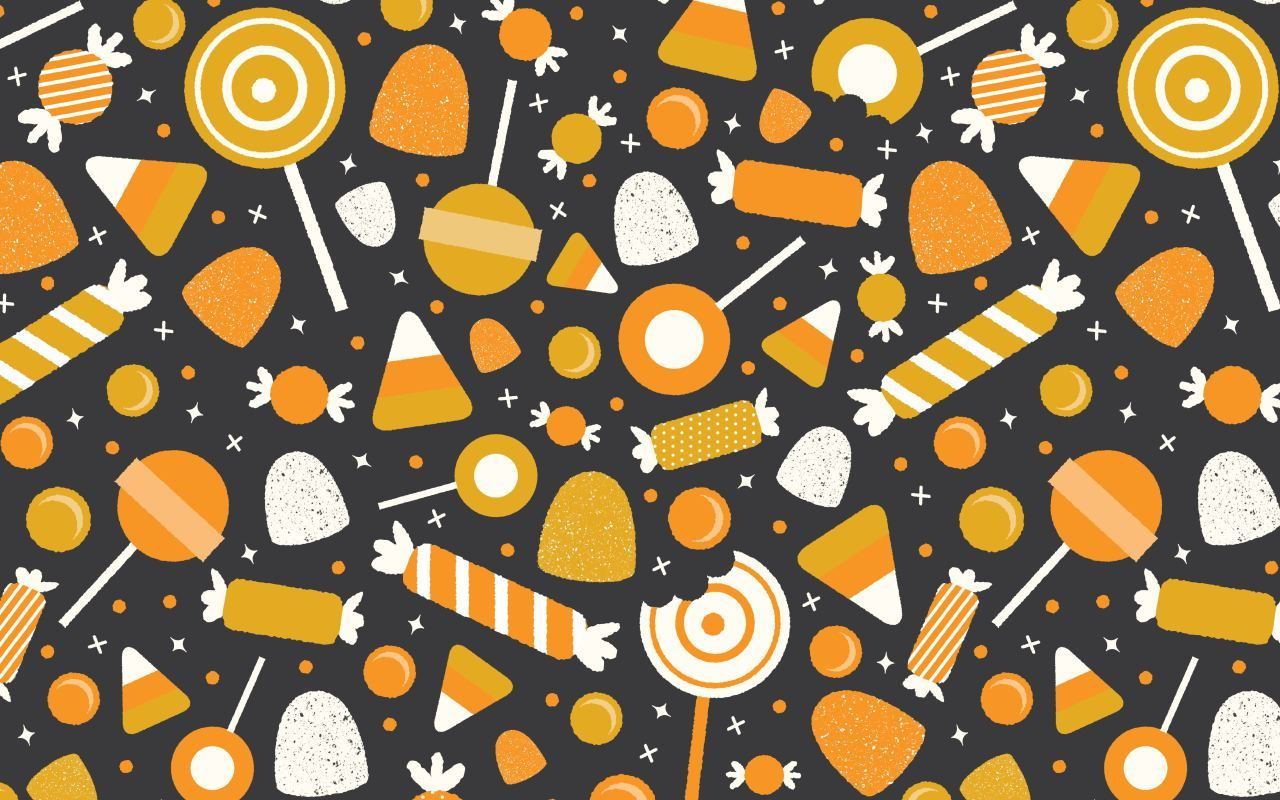 Halloween Candy Desktop Wallpaper Halloween Desktop Wallpaper Iphone Wallpaper Pattern Halloween Wallpaper