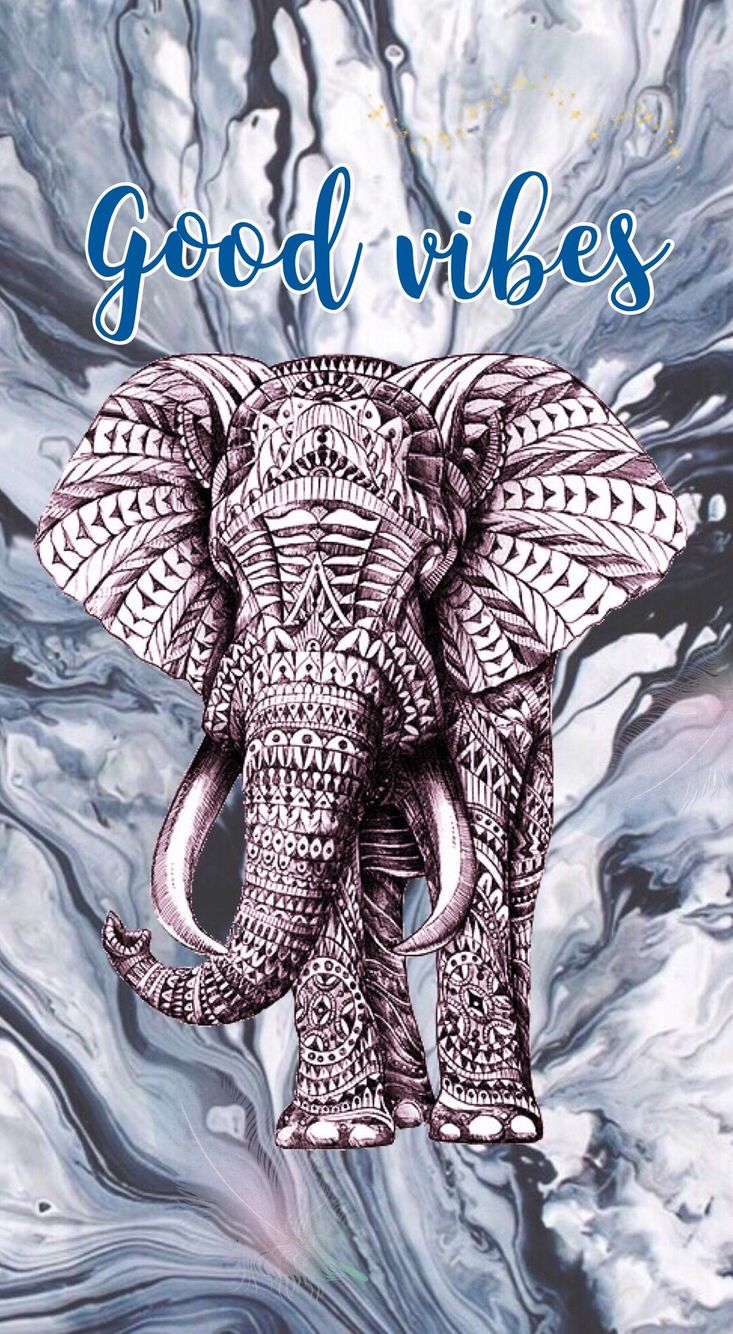 Hispter good vibes elephant Wallpapers Fondos de Pantalla
