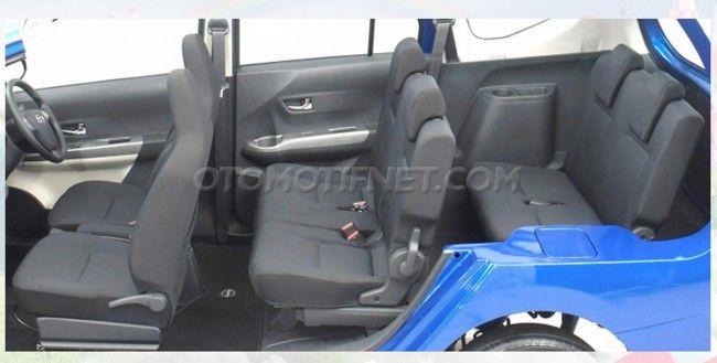 Daihatsu Sigra Rebadged Toyota Calya Interior Photographed Cars