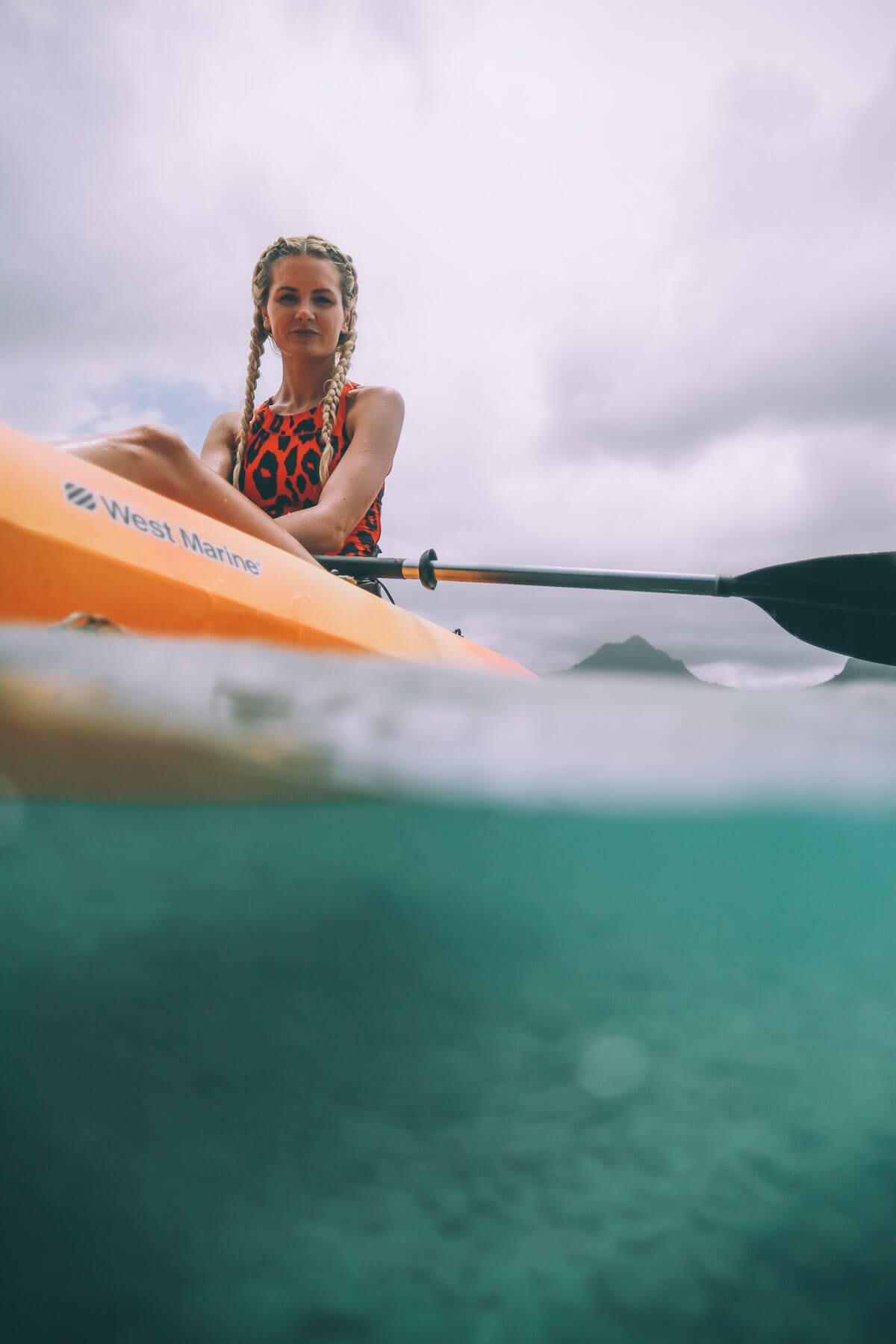 Kayaking Adventure With Shiseido Sports Bb Wetforce