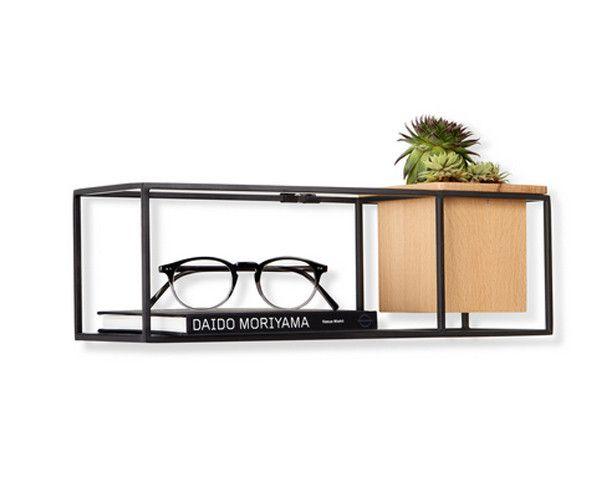Umbra Cubist Wandrek : Umbra cubist shelf small u stacks furniture store accessoires