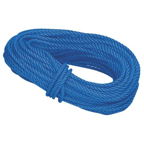 1 4 In X 100 Ft Polypropylene Rope Poly Rope Three Strand Twist Harbor Freight Tools