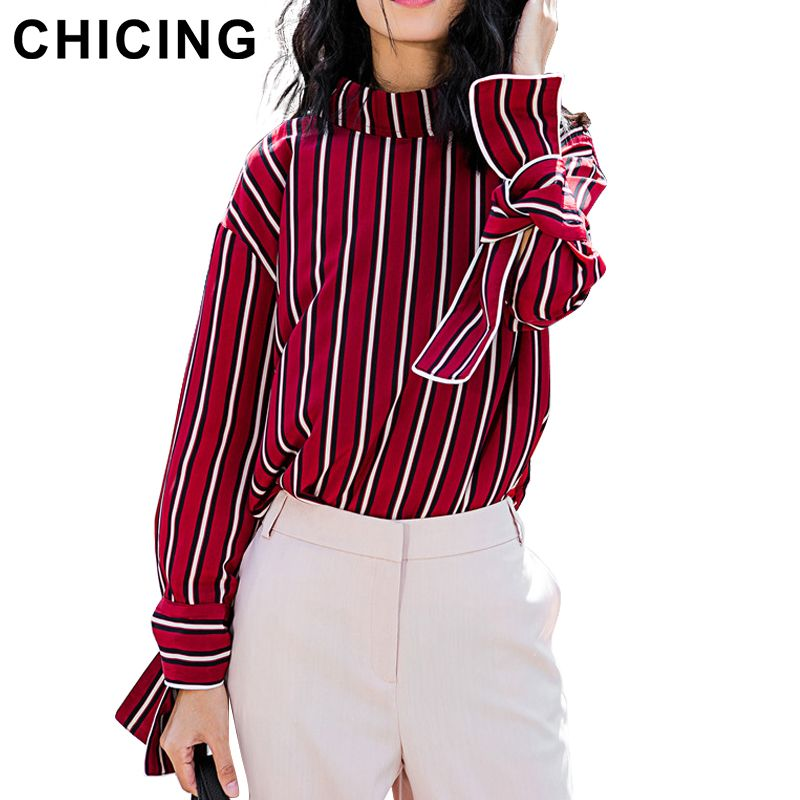 Striped Bow Sleeves Blouse | $ 47.93 | Item is FREE Shipping Worldwide! | Damialeon | Check out our website www.damialeon.com for the latest SS17 collections at the lowest prices than the high street | FREE Shipping Worldwide for all items! | Buy one here https://www.damialeon.com/chicing-2016-women-striped-bow-sleeves-stand-collar-blouse-2017-spring-ladies-fashion-streetwear-top-shirt-autumn-blusa-b1611012/ |      #damialeon #latest #trending #fashion #instadaily #dress #sunglasses #blouse…
