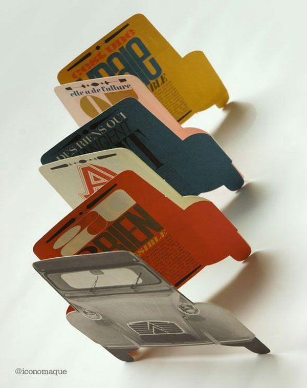 45 interesting brochure designs business card inspiration