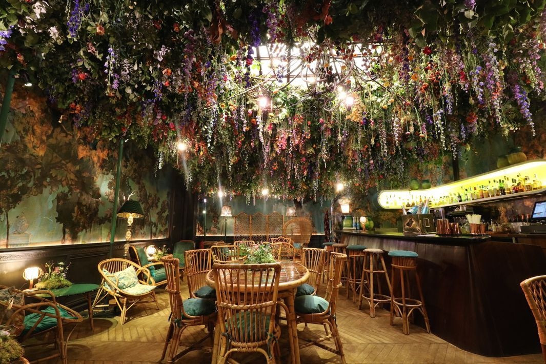 Sip Champagne Under This Fairy Tale Upside Down Meadow In A London