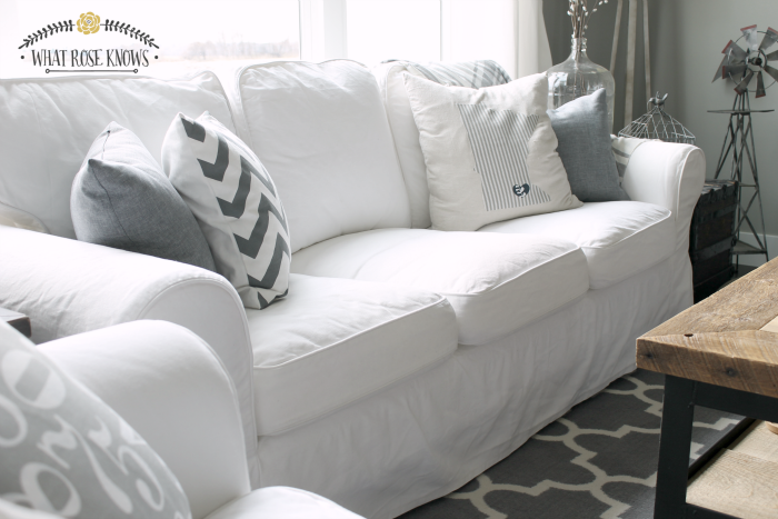 White IKEA EKTORP Furniture Review + Must Have Care Essentials