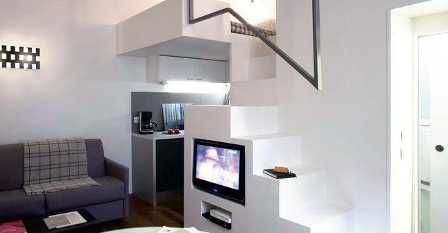 pin by yuli juarez on 6j espacios peq astuce pour petit. Black Bedroom Furniture Sets. Home Design Ideas