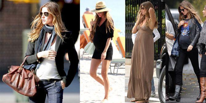 e3d70e32d street style famosas embarazadas - Google Search