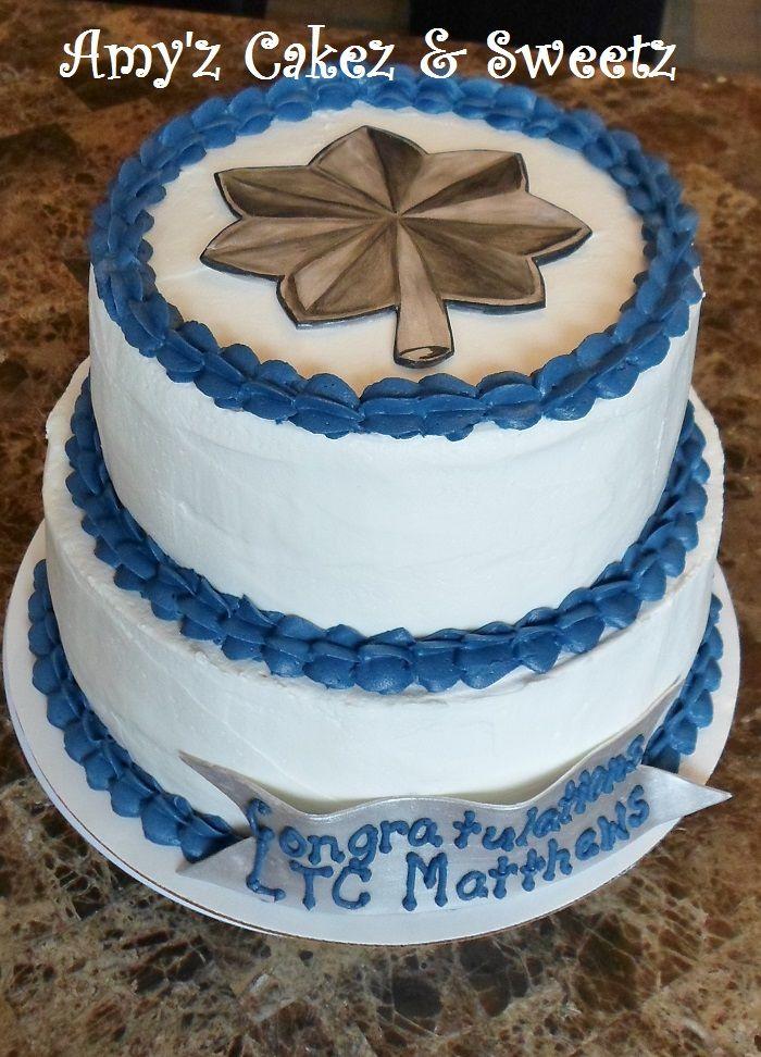 Lieutenant Colonel Promotion Cake Cakes Pinterest Promotion