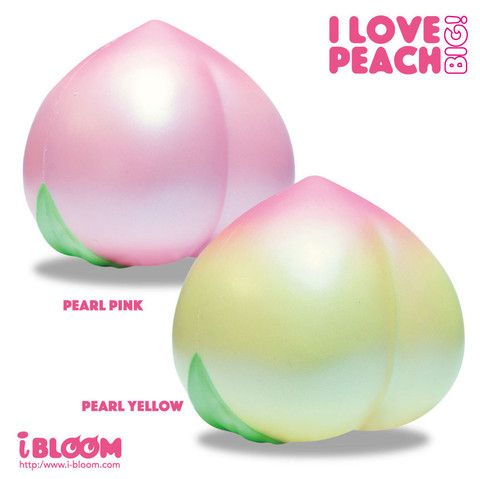 Squishy Jumbo Peach : iBloom Super Jumbo I Love Peach Squishy Squishy Squishies