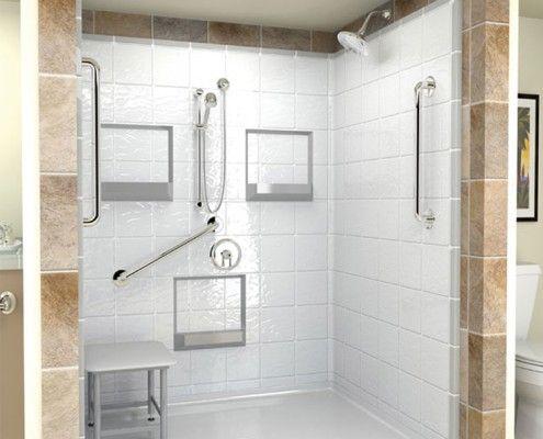 Handicap Shower 0 B1 Accessibility Wheelchair Accessible Shower One Piece Shower Handicap