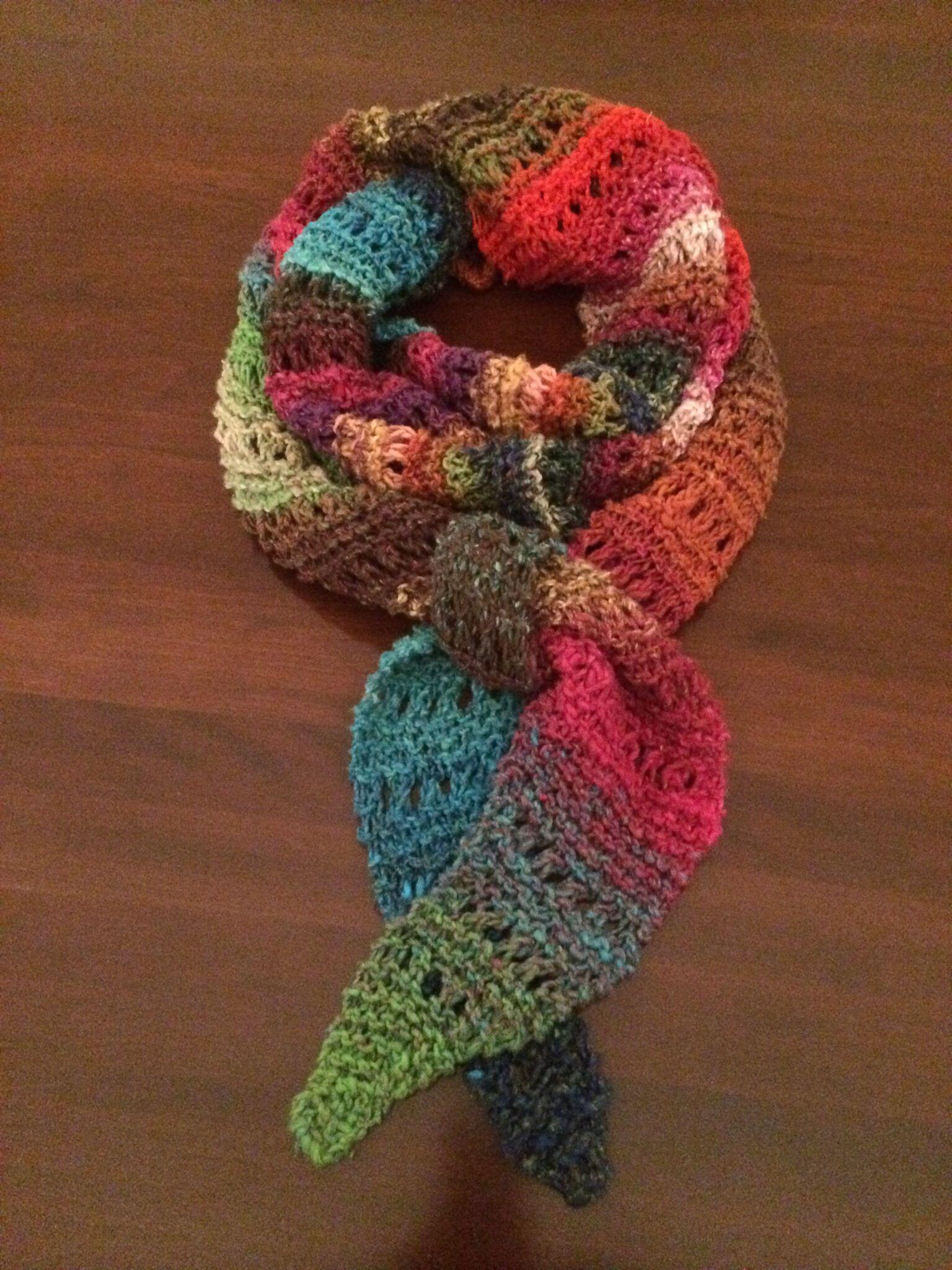 NORO Taiyo garter & eyelet stitch | Knitting patterns ...