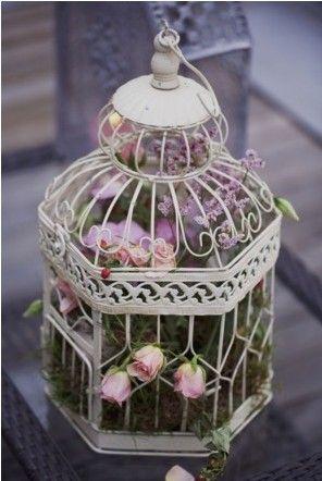 Cage oiseau projets essayer pinterest cage oiseaux - Decorer une cage a oiseaux ...