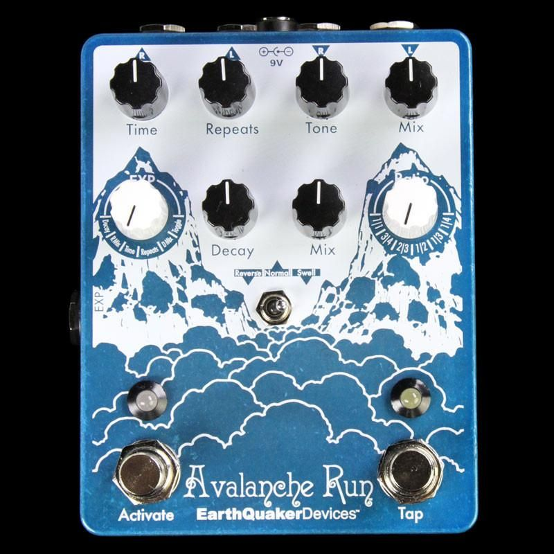 earthquaker avalanche run delay reverb effects pedal cool pedals running. Black Bedroom Furniture Sets. Home Design Ideas