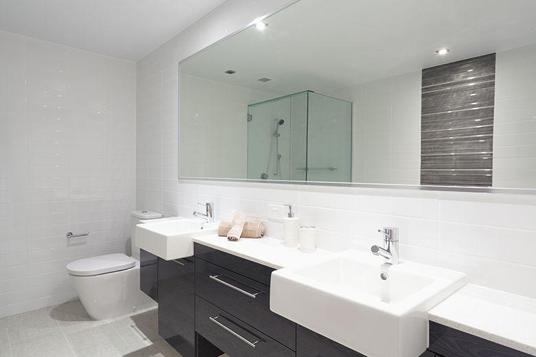 Badkamer voorbeelden zwart wit | Ideeën voor het huis | Pinterest ...