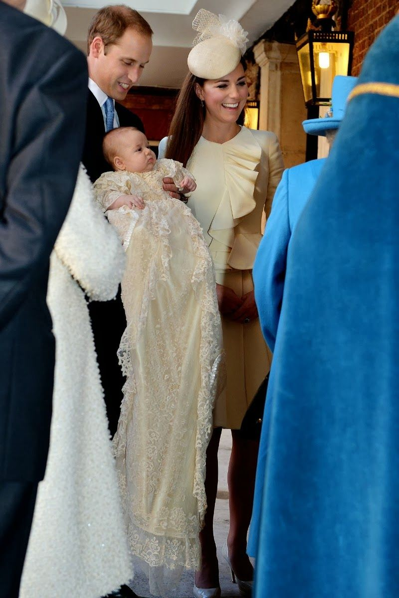The Christening Of Prince George The Royals Pinterest Prince